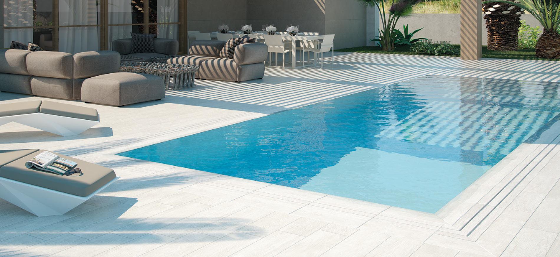 Dlažba okolo bazénu POOL SOLUTION
