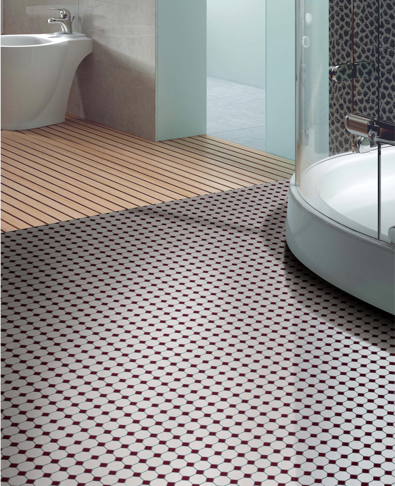 Obklad keramická mozaika RETRO / 135
